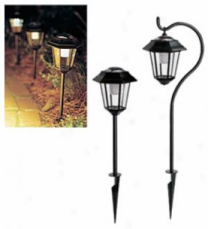 Hanging Solar Lights, 2-pack