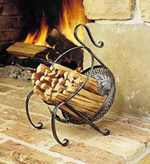 Iron Fatwood Basket