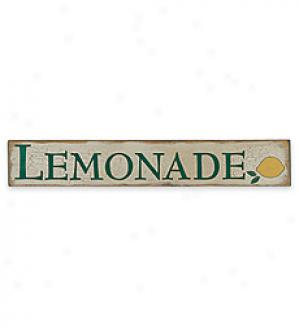 Lemonade Sign,   5-1/2