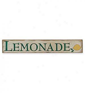 Lemonade Sign,   5-1/2