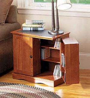Media End Table