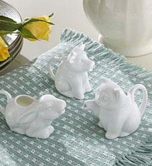 Mini Creamers,-Set Of 3