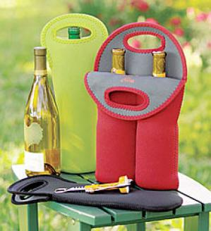 Neoprene Single Bottle Tote  4