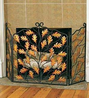 Oak Leaf Accent Screen