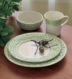 Oak Leaf Cereal Bowls, Set Of 4