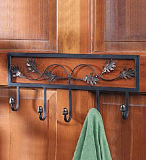 Oak Leaf Coat Rack