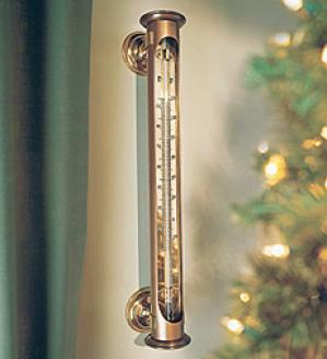 Ocean Liner Thermometer