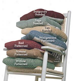 Patterned Rocker Cushion Set