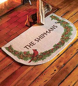 Personalized Hearth Mat