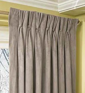 Pinch Pleat Valance