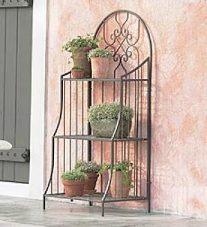 Plant Stand Without Copper Trays