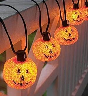 Pumpkin Light String