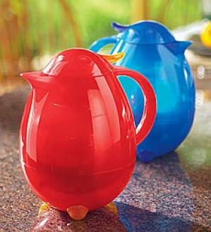 Red Insulated Carafe