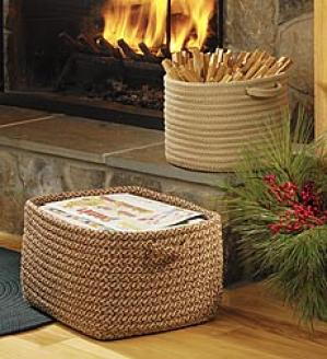 Round Braided Basket
