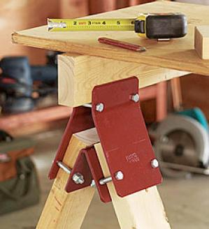 Sawhorse Bracket, Placed Of Two