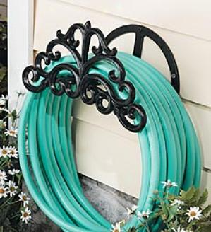 Scrollwork Hose Holder