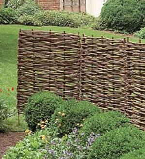 Set Of 6 Willow Screen Stakes