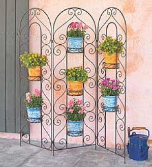 Seven-pot Screen Planter