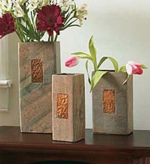 Small Slate Vase