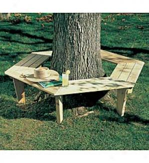 Small Tree Bench