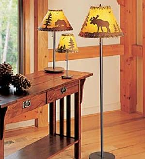 Small Wildlife Table Lamp