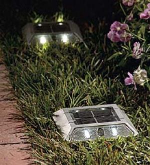 Solar Step Light , Set Of Flur
