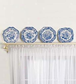 Spode Plates, Set Of 4