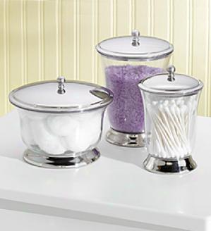 Storage Containers, Set Of 3