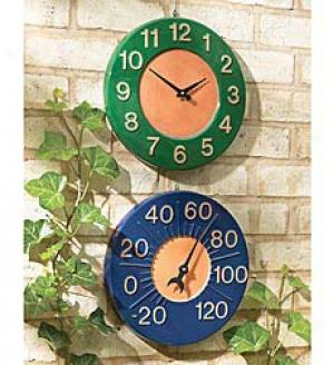 Thermometer  Green Onnly