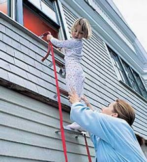 Three Story Escape Ladder
