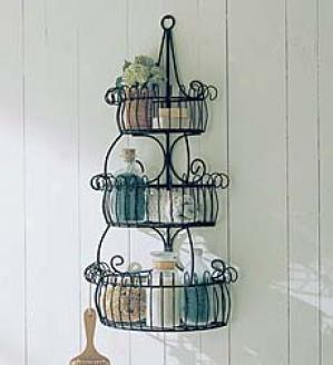 Three-tiered Wall Rack