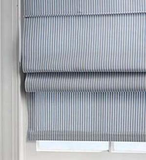 Ticking Stripe Roman Blinds, 23