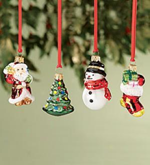 Traditional Mini Ornaments, Attitude Of 4
