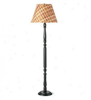 Turned Wood Table Lammp