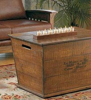 Vinecart Cart Coffee Table