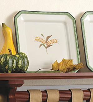 Wheat Plates, Set Of 2