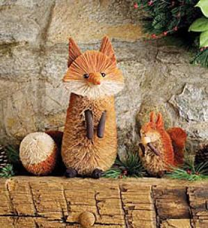 Woodland Animals, Set Of 3