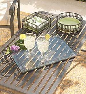 Wrought-iron Serving Tray