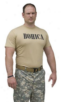 A-team™ Bohica™ T-shirt- Tan