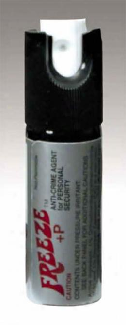 Aerko Freeze+p™ Oc Personal Defense Spray - Safety Cap 1/2oz *ra*
