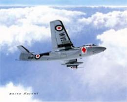 Aircraft Of The World Prints British Hawker Sea Hawk