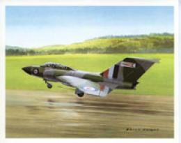 Aircraft Of The World Prints British Aircraft 4-pack Jet