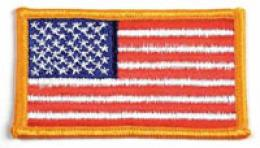 American Flag Patch - 2'' X 3''