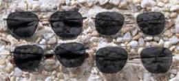 Ao® Pilots' Sunglasses, Skull Temples