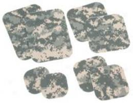 Armed Forces Acu / Abu Unifkrm Repair No-iroh 8 Piece Patch Kit