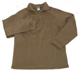 Army Polypropylene Thick Thermal Zip Top