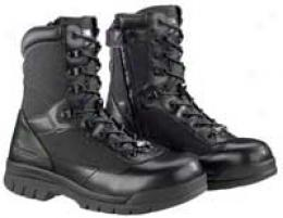Bates® Enforcer Series 8'' Side Zip Steel Toe Boot