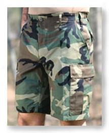Bdu 6 Pocket Ripstop Cotton Cargo Shorts