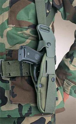 Bianchi® Um84/m12 Holster Underarm Projection Tackle Conversion