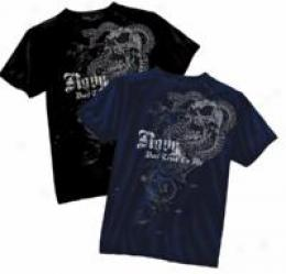 Black Ink Design™ Navy ?snake & Skull""